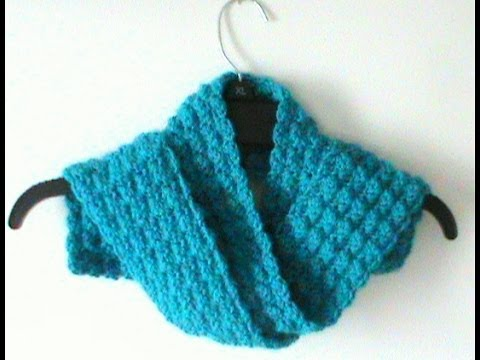 Youtube Crocheting Scarves : Crochet Riddle Stitch Scarf - YouTube