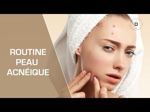 Soigner une peau acnéique chez l'adulte - Routine Peau