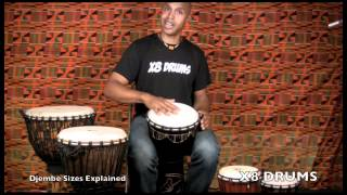 Which Size Djembe Is Right For Me? X8 DRUMS