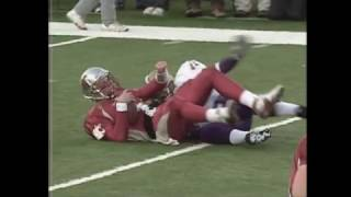 Football: UW vs WSU  Apple Cup 11/18/2000