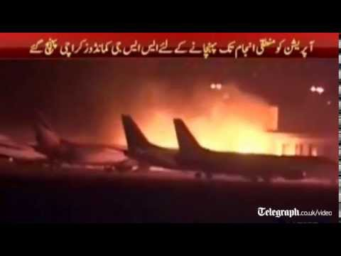 Pakistan's Karachi airport attack kills 24