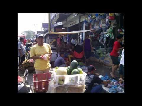 Traditional Market  - Serpong West  Java Indonesia