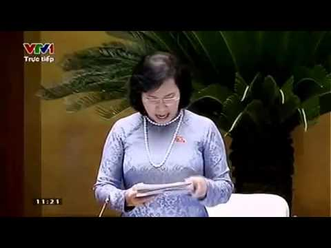 Đại biểu Quốc Hội  Trương Trọng Nghĩa  nói thay tiếng nói người dân Việt Nam