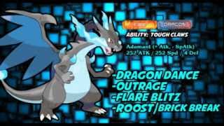 [Pokemon X/Y] MegaCharizardX Moveset Analysis