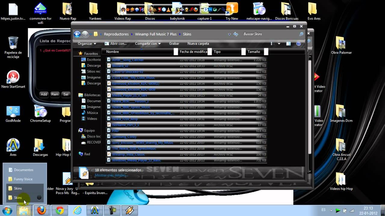descargar winamp gratis en espanol para windows 7