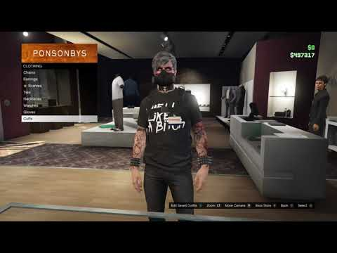 3 super easy tryhard outfits (gta5 online) youtube