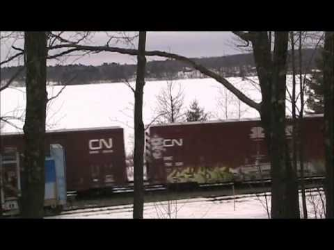 Canadian National Mixed Freight