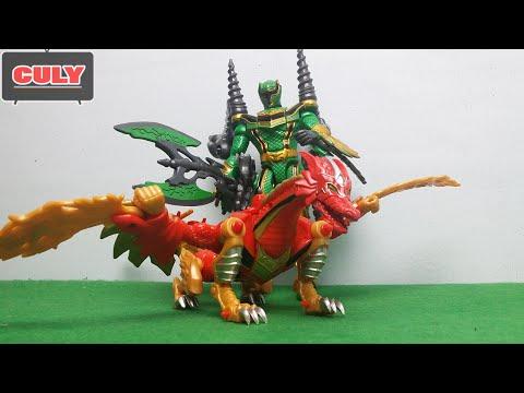 Siêu nhân phép thuật rồng đỏ - Power Rangers Mystic Force red fury dragon toy for kid