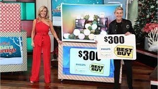 Ellen 12 Days of Giveaways, Day 11- Electronics!