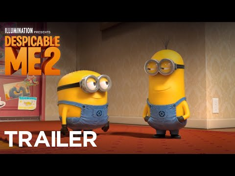 Despicable Me 2 - Featured Trailer #2(HD), Ready for more Minion madness with Gru and the girls? Despicable Me 2 is coming to theaters Summer 2013! http://despicable.me