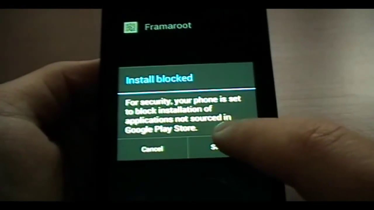 How to root easily with Framaroot Alcatel STAR, IDOL and most Android
