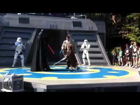 Padawan Noah vs. Darth Vader
