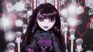 Monster High Elissabat Monstros, Câmera, Ação Unboxing
