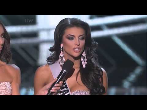 Miss Utah Solves All The World's Problems..