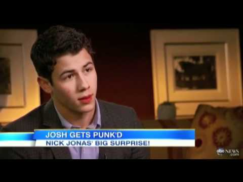 Nick Jonas 'GMA Gets PUNK'D' Full Episode