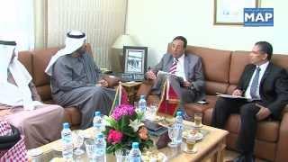 عبد القادرعمارةيستقبلالمبعوث الخاص لدولة الإمارات لشؤون الطاقة وتغير المناخ