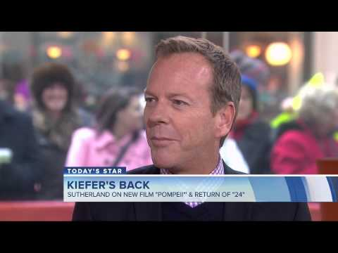 Kiefer Sutherland on Today 2/7/2014