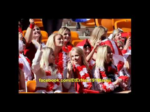 Danish  Fans Girls supporters football