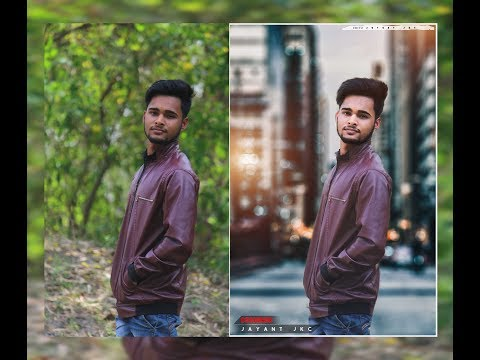 Photoshop CC Tutorial - Fantasy Look Photo Effect Editing | Bokeh Background | Manipulation - 2017