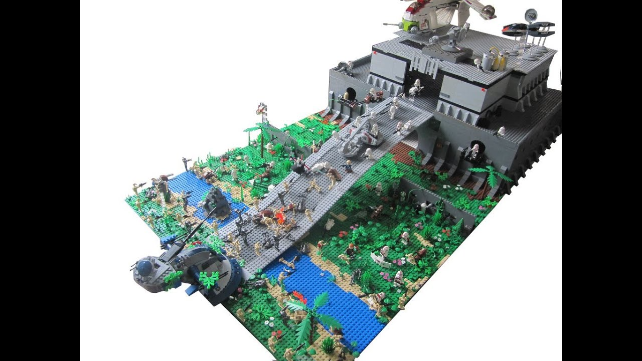 Lego star wars the clone wars clone base on kashyyyk 2 0 - Lego star warse ...