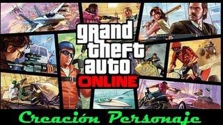GTA V Online| Creación De Personaje Online| PS3