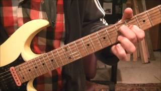 How To Play Wanted Man By RATT On Guitar By Mike Gross