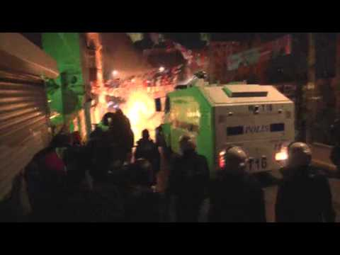Raw: Clashes in Turkey After Teen's Funeral