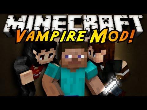 Minecraft Mod Showcase : VAMPIRES!