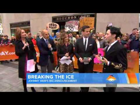 TODAY show 23.10.13 Johnny Weir:
