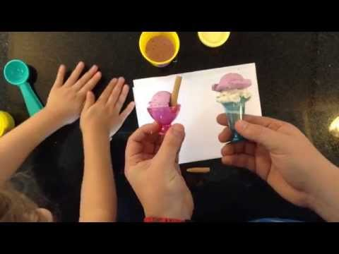 Play Doh Sorvete com Pai e Filha brincando juntos de massinha Unboxing Playset - Pig Boss Toy