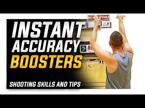 How to: Instant Accuracy Boosters | Basketball Shooting Skills and Tips