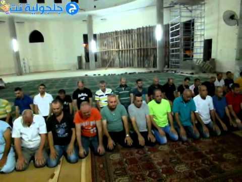 صلاة العشاء والتراويح من مسجد الروضة في جلجولية  -