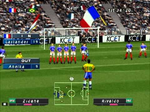 Iss pro evolution soccer 2 ps1 iso player