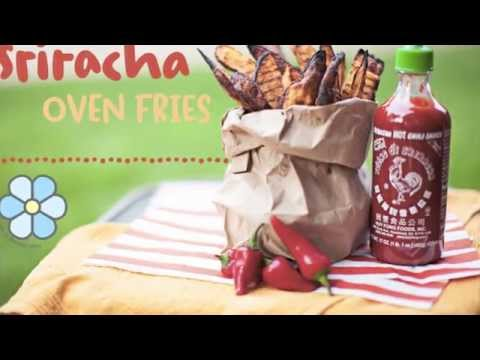 Sriracha Oven Fries Recipe