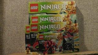 NOWOŚCI STYCZEŃ 2013 LEGO NINJAGO