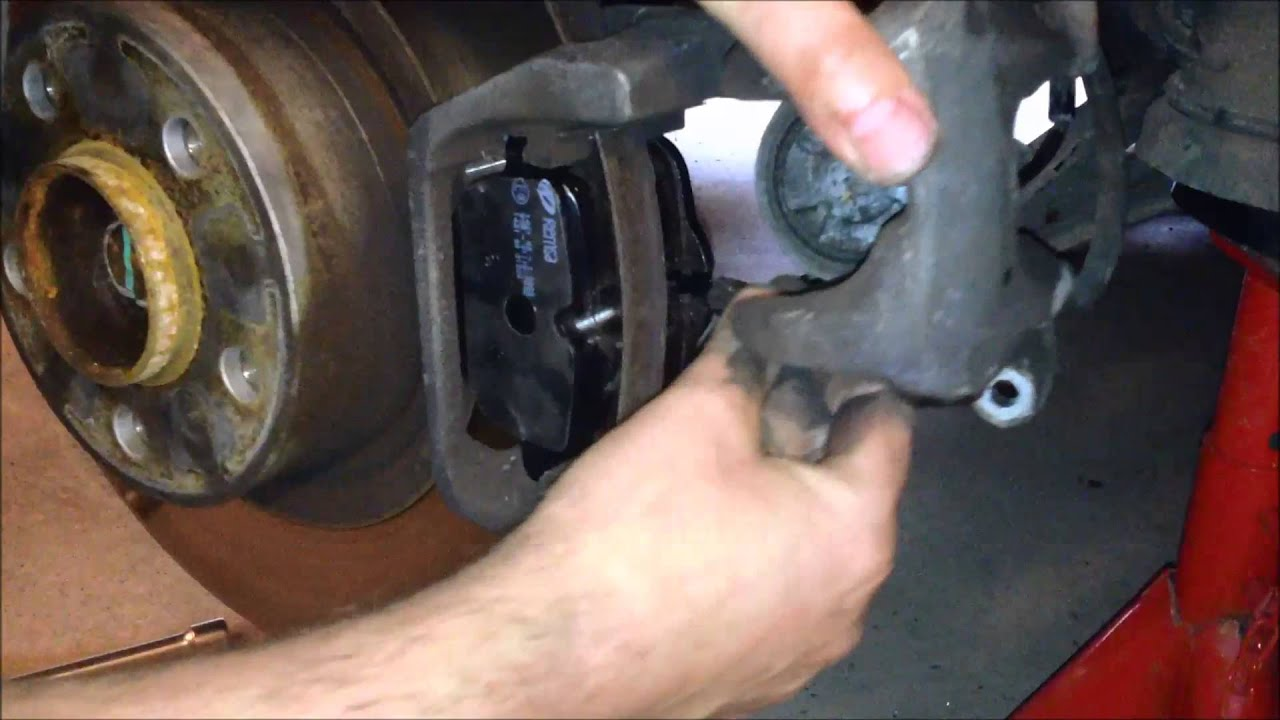 Rear Brake Pads Renewal X3 F25 Youtube