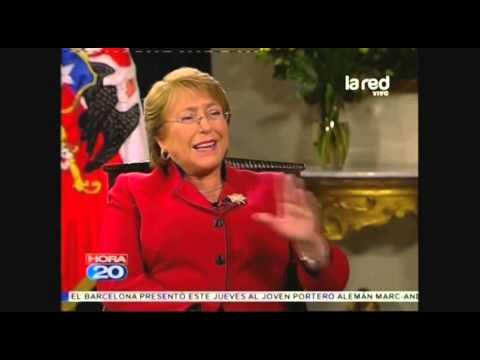 Michelle Bachelet tras cuenta pública