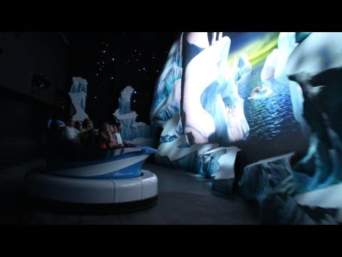 SeaWorld Antarctica: Empire of the Penguin - Full POV Ride Through, 1080p Wild Version, Orlando
