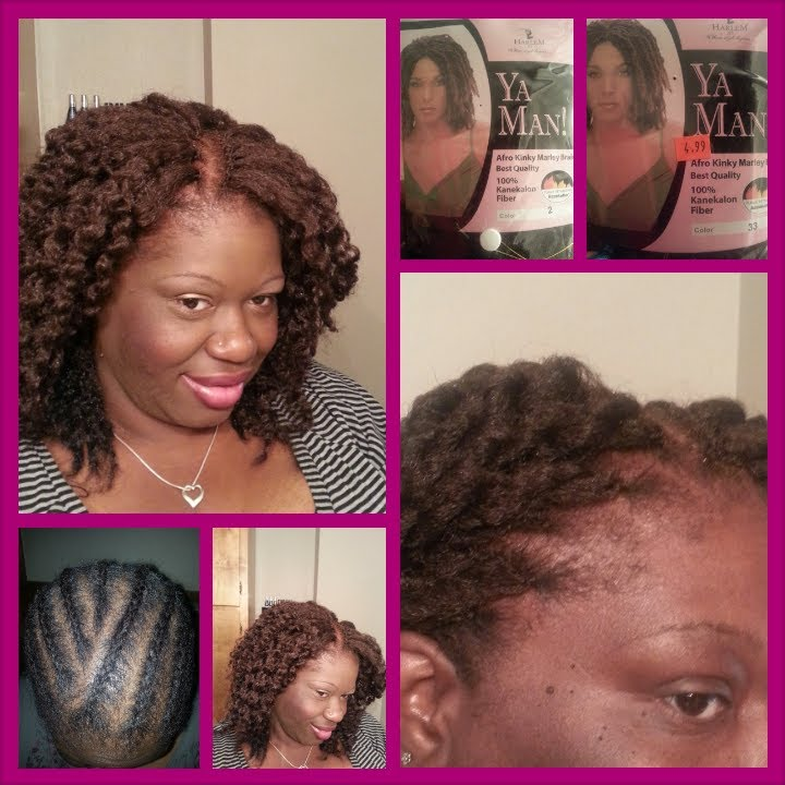 Crochet Marley Hair Youtube : Crochet Braids: Marley Hair Braid Out - YouTube