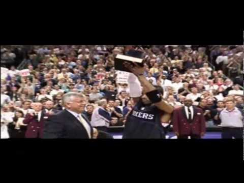 NBA Great Playoff Duels: Allen Iverson vs Vince Carter (2001)