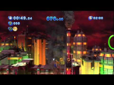 Sonic Generations: Request - Classic Sonic & Tails in Chemical Plant Zone