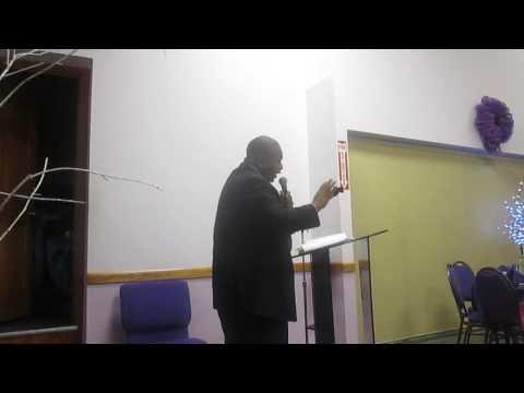 Pastor Graham of CCF @ Greater St. John's COGIC, Albany NY / Banquet