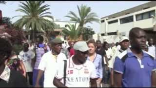 Maroc - Hommage des Senegalais a Ismaila Faye