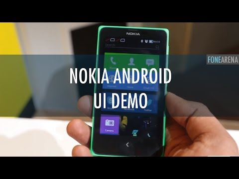 Nokia X Android UI Demo