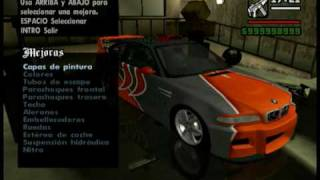 GTA San Andreas Tuning Cars Mod (part 1)