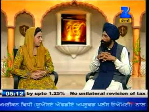 Dharam Vichaar by Shamsher Singh on Zee Punjabi dated 3 march 2013