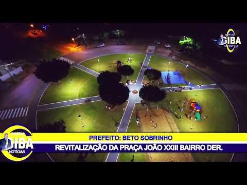 A Prefeitura fez a revitalização completa da Praça do DER e foi instalado o novo parquinho para garantir mais segurança e alegria para as crianças que frequentam o local. #Cuidandodanossagente