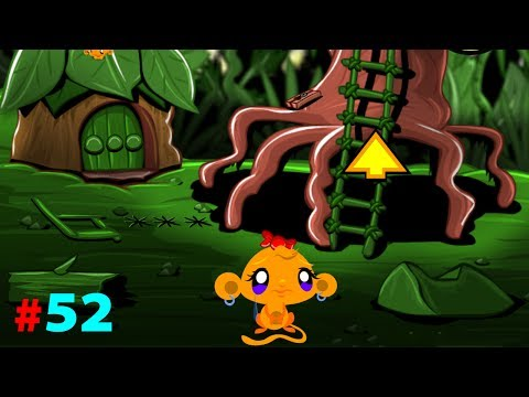 Game chu khi buon 52 - Hướng dẫn chơi game chú khỉ buồn 52