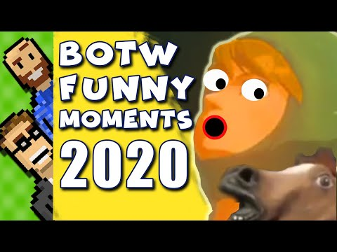 NEW FUNNY MOMENTS for 2020! Floppy Horse, Bomb Pit Glitch, and MORE! | Breath of the Wild