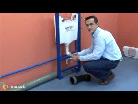 Instalar un m dulo para inodoro wc suspendido for Como cambiar un inodoro